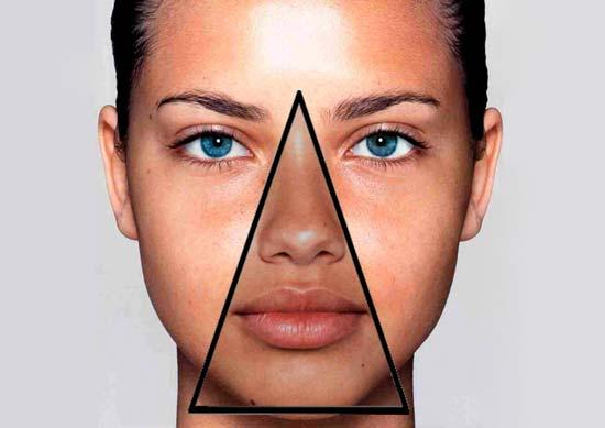 Прыщи в носогубном треугольнике причины
